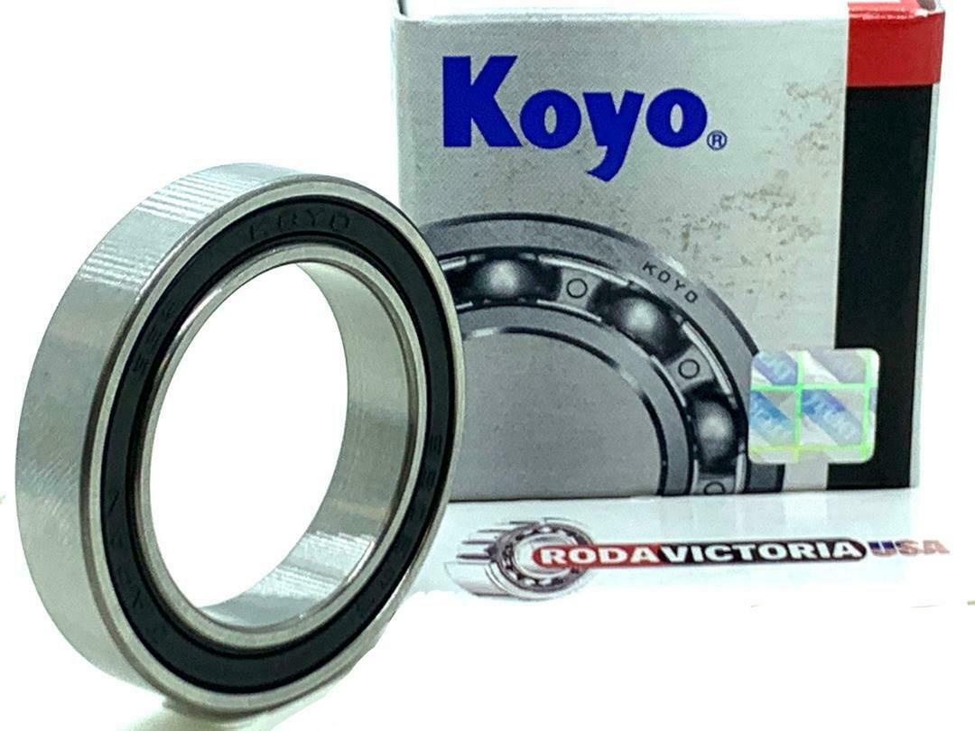 6805-2RS KOYO Made in Japan 6805 RS Deep Groove Ball Bearings 25x37x7mm