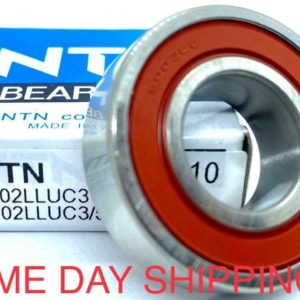 NTN 6003LLUC3 BEARING RUBBER SEALED 6003 LLU 6003-2RS-C3 17x35x10 mm